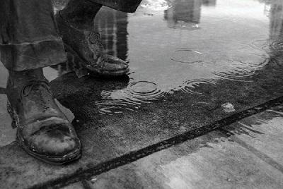 革製品は濡れてしまうと状態が悪くなる